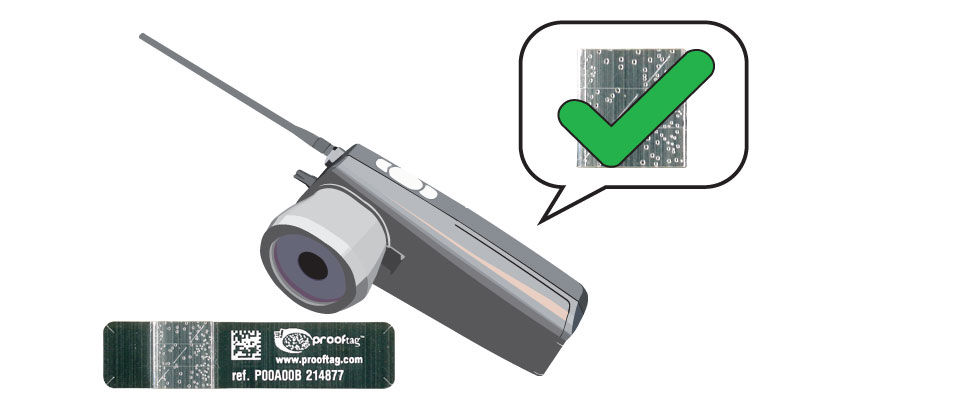 For uses where human error may be an issue or the efficiency of verification by eye is not acceptable, standalone machine readers are available, or parts may be purchased and integrated into the customer's own system.