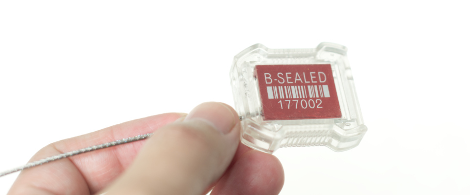 Large barcoded with human readable serial numbers as standard.
