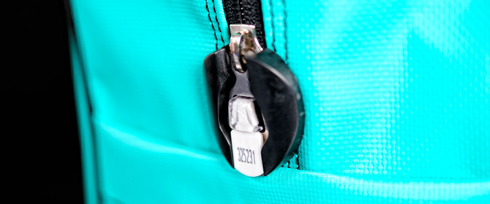 All our reusable security bags feature a security enclosure where a ZipLock seal is used to fix the zip in place and lock the bag.