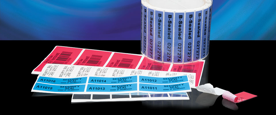 X-Safe Non-transfer Tamper Evident Labels are self-voiding labels that don't leave a residue when peeled off.