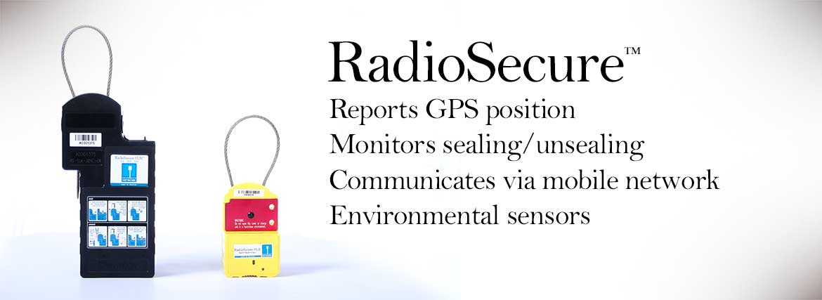 RadioSecure - Security seals with GPS tracking and monitoring